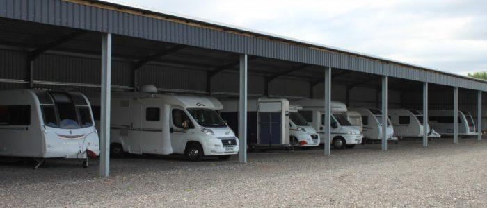 Undercover Caravan Storage